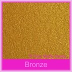 Bomboniere Box - 3 Chocolates - Crystal Perle Bronze (Metallic)