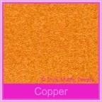 Crystal Perle Copper 125gsm Metallic - 160x160mm Square Envelopes