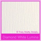 Bomboniere Box - 3 Chocolates - Crystal Perle Diamond White Lumina (Metallic)