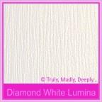 Bomboniere Box - 3 Chocolates - Crystal Perle Diamond White Lumina (Metallic)