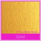 Bomboniere Box - 3 Chocolates - Crystal Perle Gold (Metallic)