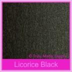 Bomboniere Box - 3 Chocolates - Crystal Perle Licorice Black (Metallic)