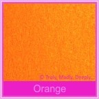 Crystal Perle Orange 125gsm Metallic - 160x160mm Square Envelopes