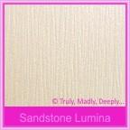 Bomboniere Box - 10cm Cube - Crystal Perle Sandstone Lumina (Metallic)