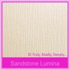 Bomboniere Box - 3 Chocolates - Crystal Perle Sandstone Lumina (Metallic)