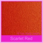 Bomboniere Box - 3 Chocolates - Crystal Perle Scarlet Red (Metallic)