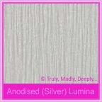 Curious Metallics Anodised Silver Lumina 250gsm Card Stock - A4 Sheets
