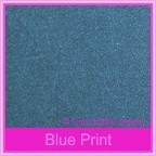 Curious Metallics Blue Print 120gsm - 130x130mm Square Envelopes