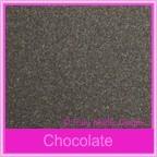 Curious Metallics Chocolate 250gsm Card Stock - A4 Sheets