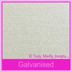 Curious Metallics Galvanised 250gsm Card Stock - A4 Sheets