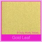 Bomboniere Box - 5cm Cube - Curious Metallics Gold Leaf