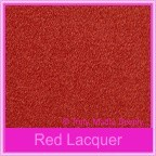 Curious Metallics Red Lacquer 250gsm Card Stock - A4 Sheets