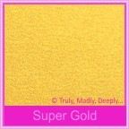Curious Metallics Super Gold 120gsm - 130x130mm Square Envelopes