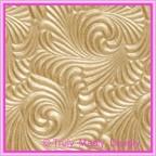 A4 Embossed Invitation Paper - Majestic Swirl Mink Pearl