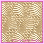 A4 Embossed Invitation Paper - Sea Breeze Mink Pearl