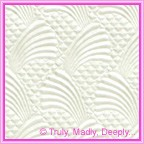 A4 Embossed Invitation Paper - Sea Breeze White Pearl