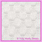 A4 Embossed Invitation Paper - Thunder White Pearl