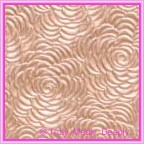 A4 Embossed Invitation Paper - Bouquet Colonial Rose Pearl