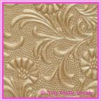 A4 Embossed Invitation Paper - Tuscany / Sunflower Mink Pearl