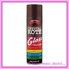 Helmar Crystal Kote Gloss Varnish Spray - 400g
