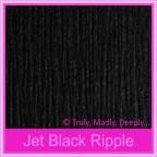 Bomboniere Box - 10cm Cube - Keaykolour Original Jet Black Ripple (Matte)