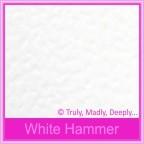 Bomboniere Box - 10cm Cube - Knight White Hammer (Matte)