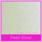 Bomboniere Box - 10cm Cube - Metallic Pearl Silver