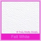Mohawk Via Vellum Felt White 104gsm Matte - 5x7 Inch Envelopes