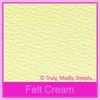 Mohawk Via Vellum Felt Cream 104gsm Matte - 130x130mm Square Envelopes