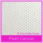 Pearl Textures Collection - Embossed Canvas 115gsm Metallic Paper - A4 Sheets