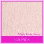 Bomboniere Box - 10cm Cube - Starlust Ice Pink Textured (Metallic)