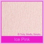 Starlust Ice Pink 250gsm Textured Metallic Card Stock - A4 Sheets