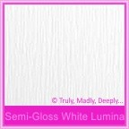 Bomboniere Box - 10cm Cube - Semi Gloss White Lumina