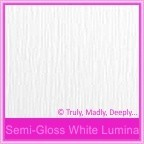 Semi Gloss White Lumina 315gsm Card Stock - A4 Sheets