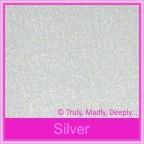 Bomboniere Box - 10cm Cube - Stardream Silver (Metallic)