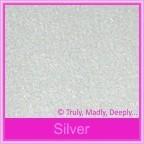 Stardream Silver 285gsm Metallic Card Stock - A4 Sheets