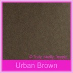 Bomboniere Box - 10cm Cube - Urban Brown (Matte)