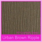 Bomboniere Box - 10cm Cube - Urban Brown Ripple (Matte)