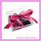 Purse Bomboniere / Favor Boxes from Paperglitz. Holds 4 of our foil wrapped chocolate hearts.