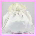 Wedding Bridal Bag - Ivory Pearl