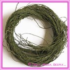 Artificial Vine Twig Bundle - Moss Green
