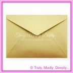 Crystal Perle Antique Gold 125gsm Metallic - C5 Envelopes