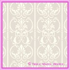 A4 Tiffany Pearl Flocked Paper