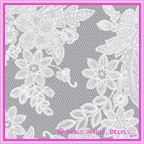 Cristina Re Translucent Vintage Lace -  A4 Sheet