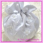 Wedding Bridal Bag - Daisy Leaf