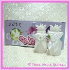 Wedding Bubbles Doves - Box of 24